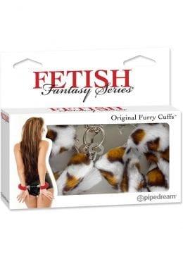 Fetish Fantasy Series Furry Cuffs Leopard