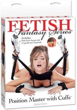 Fetish Fantasy Position Master With Cuffs Black