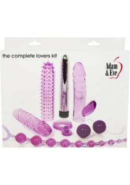 Adam and Eve The Complete Lovers Kit Purple