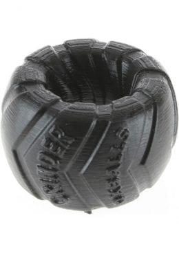 Grinder 1 Silicone Ballstretcher Black 1.5 Inch
