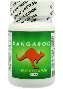 Kangaroo For Him Enhancement Pills 12 Counts Per Bottle