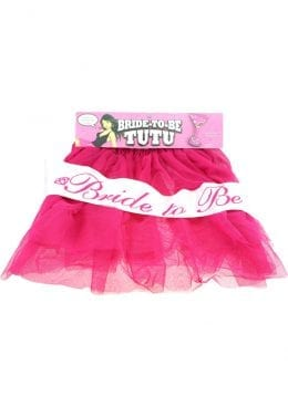 Bride To Be Tutu Hot Pink