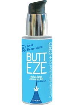 Butt Eze Anal Desensitizing With Hemp 2oz