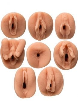 All Star Porn Stars Gang Bang Collector Set In Ultraskyn Flesh 8 Piece Kit