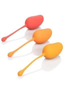 Kegel Training Set Mango Silicone