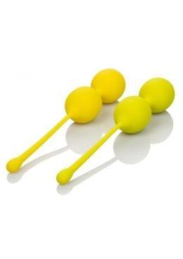 Kegel Training Set Lemon Silicone