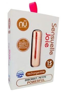 Sensuelle Joie 15 Function Rechargeable Bullet Rose Gold