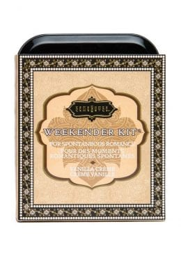 Weekender Kit Couples Romance Bath and Shower Vanilla Creme