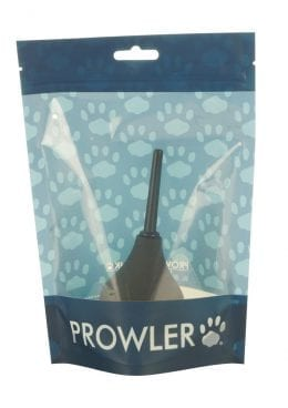 Prowler Small Bulb Douche Anal Hygiene Black