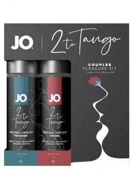 JO 2 To Tango Couples Pleasure Kit Lubricant